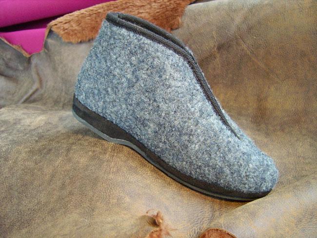 meet 9df28 21bb4 Pantofola in lana Art.8253 - Calzaturificio Patrizia